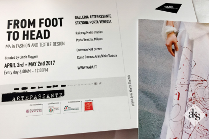 Milan Fashion Exhibition From Foot to Head MA in Fashion and Textile Design