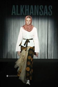 Hijab and Modest Fashion Design at Fashion Show