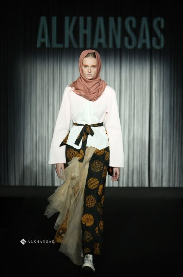 Hijab and Modest Fashion Design at Fashion Show