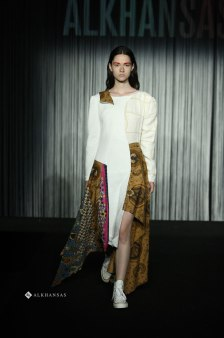 Modern Batik Dress Design